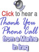 Thank You Sound Clips from Marines in Iraq